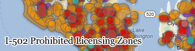 I-502 Prohibited Licensing Zones